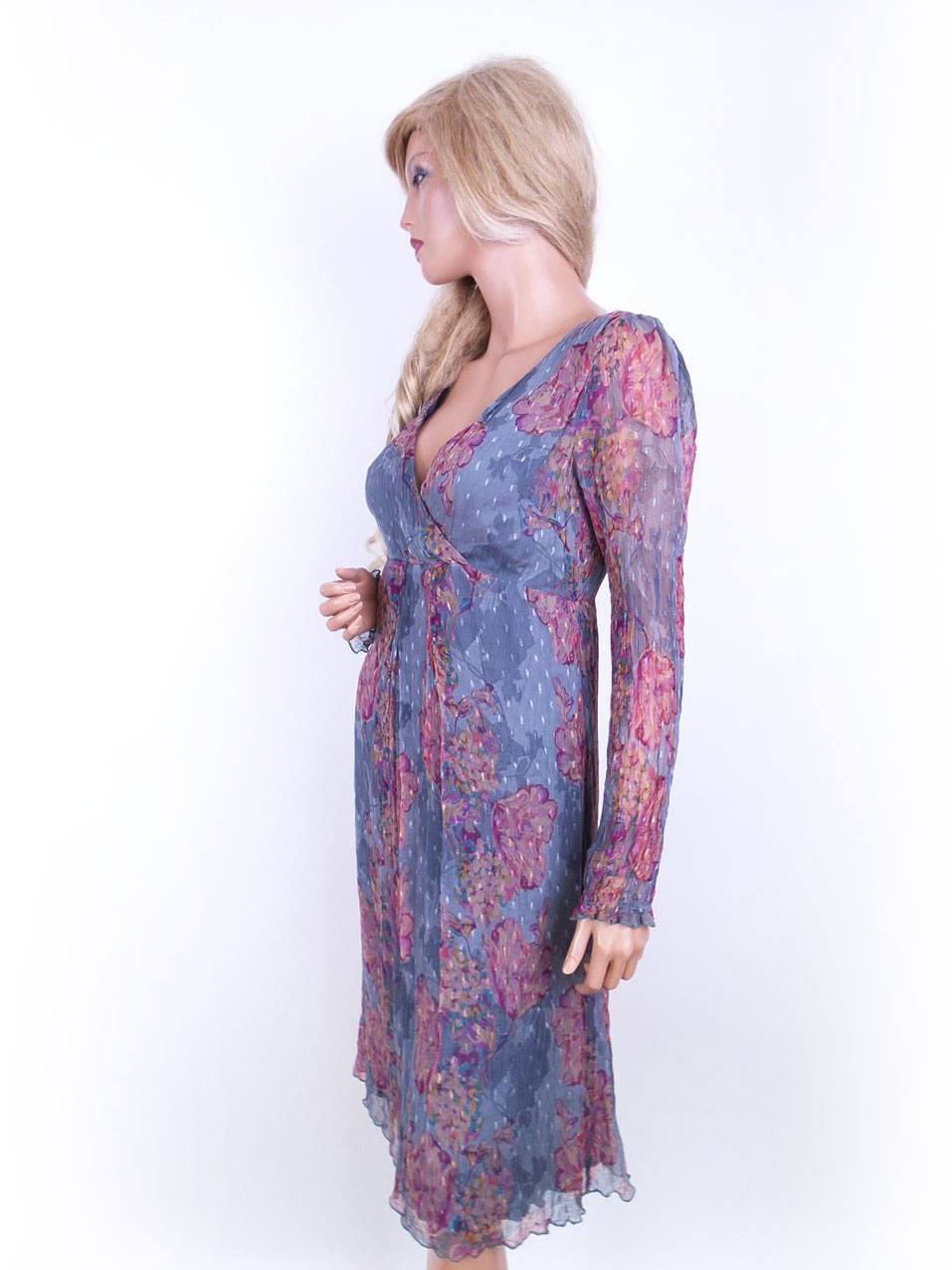 3aaa355d99ea ... Noa Noa størrelse M kjole romantisk pastel blomster.