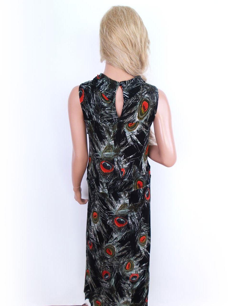 24b02886ef92 Details about Indiska size M gorgeous long viscose dress