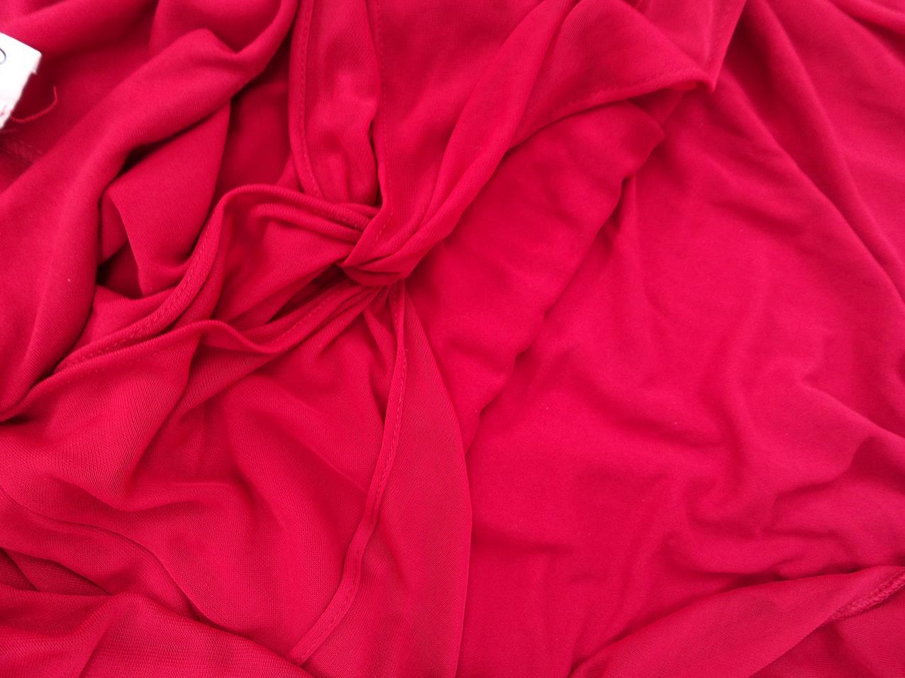a3f38acca7fd Orna Farho storlek unika bollen lång röd klänning | RomanticFashion.se