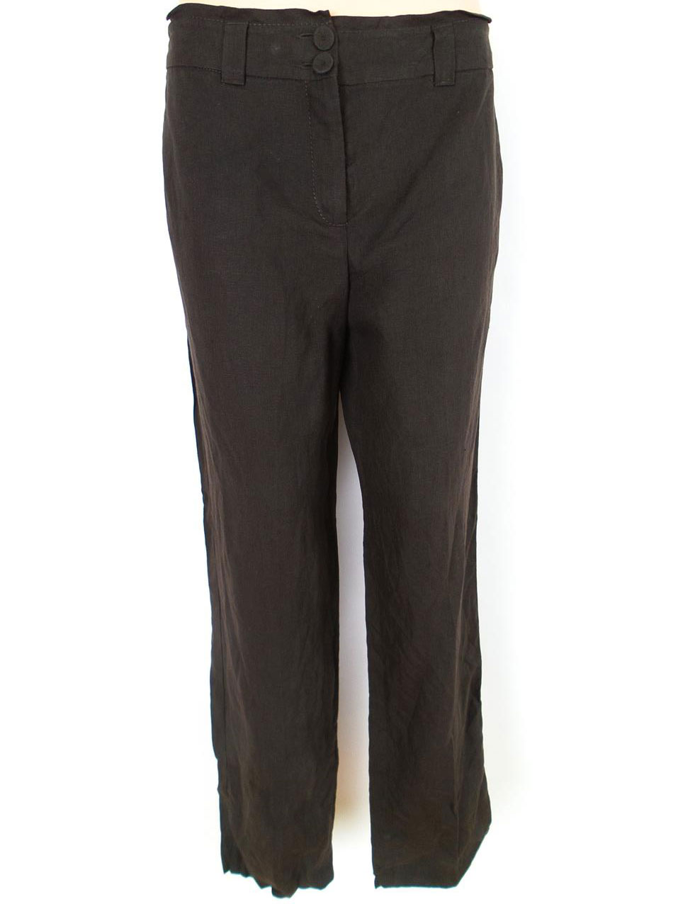 ... Bandolera koko 38 housut taskuihin jokapäiväistä ruskea pellava 100%.    5dc84049b5