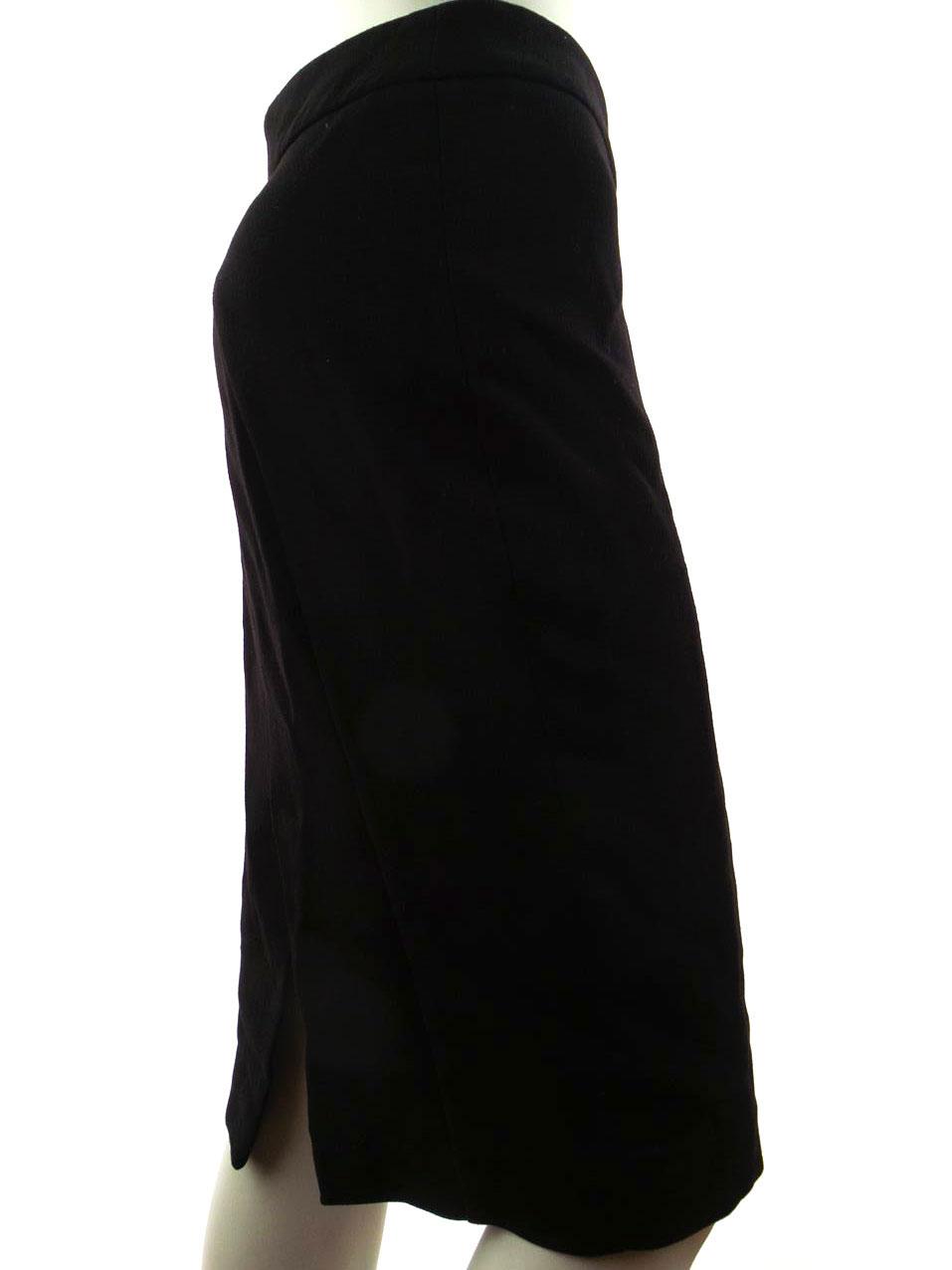 fbe8a5dbda ZARA BASIC WOMENS USA Size M pencil skirt black