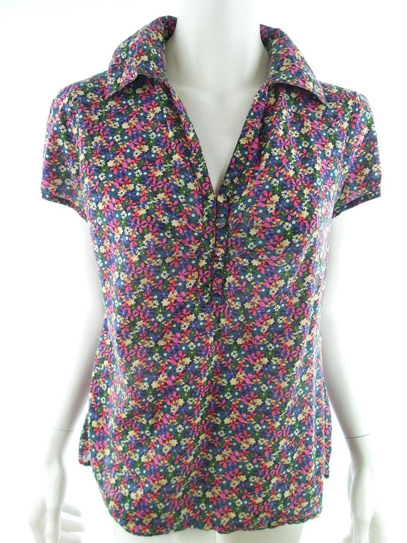 Only size L Shirt sleeve short flowers pink purple - Ciechanów, Polska - Only size L Shirt sleeve short flowers pink purple - Ciechanów, Polska