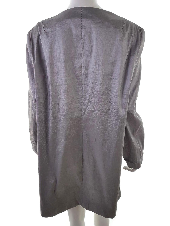 Joanna Hope jacket plus size 16 18 20 22 24 black patchwork print open front