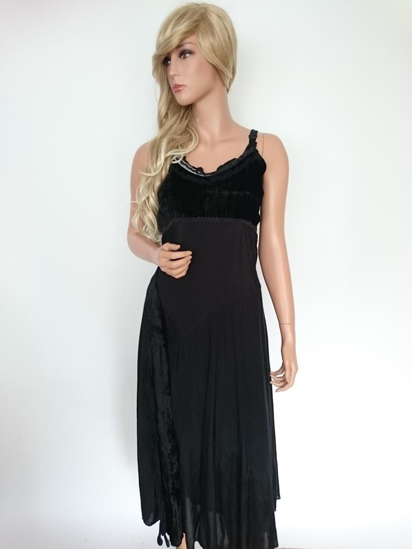b17d7d61dee5 Zizzi klänning, storlek S (42/44/46), svart   RomanticFashion.se